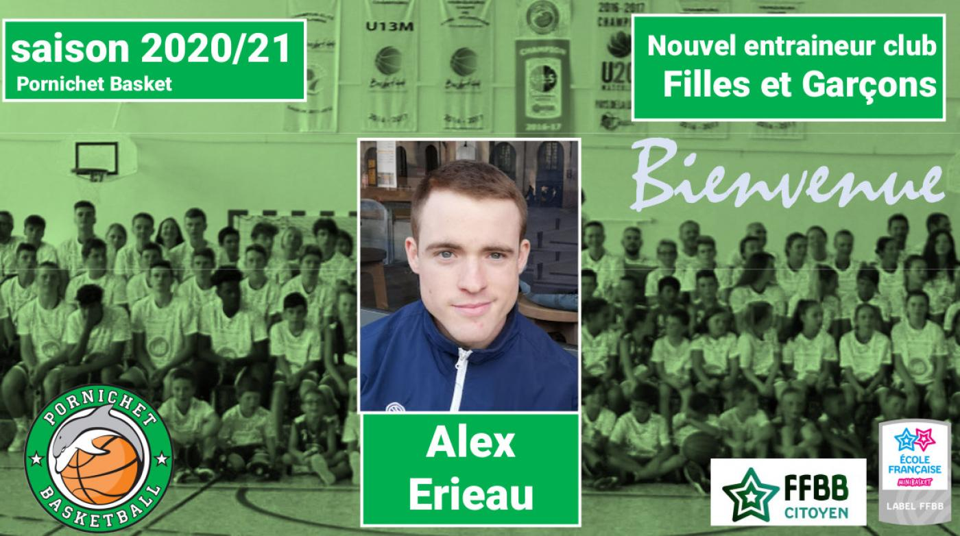 Bienvenue Alex Erieau
